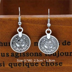 Boho coin earrings